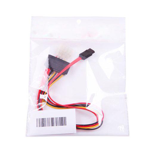 thumbnail 5 - 15+7 Pin SATA Power/Data to 4 pin IDE Power Cable O8P7