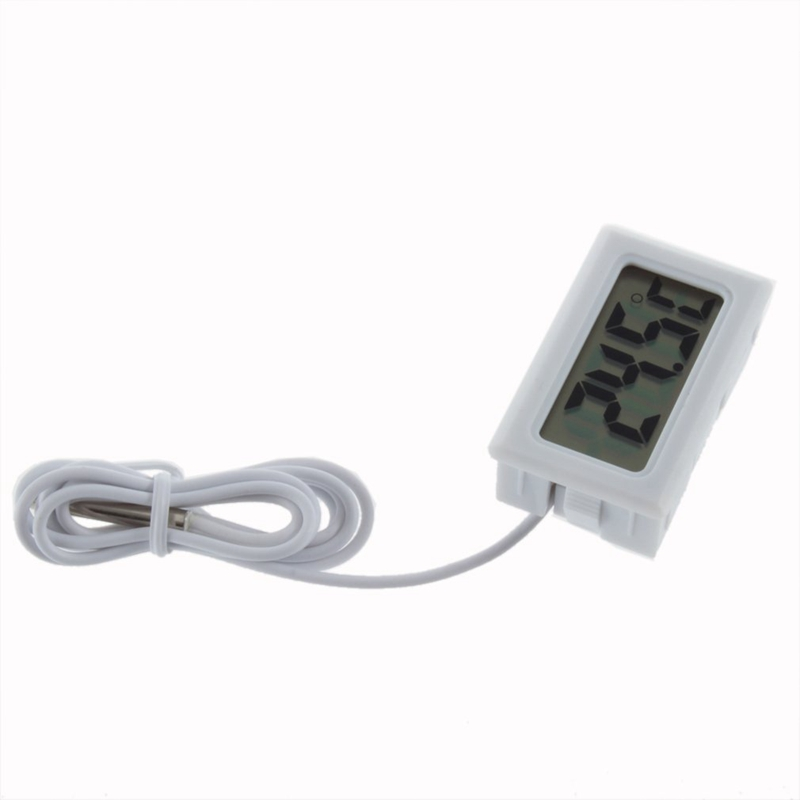 LCD Refrigerator Freezer Fridge Digital Thermometer Temperature -50 ~ 110c J2U2