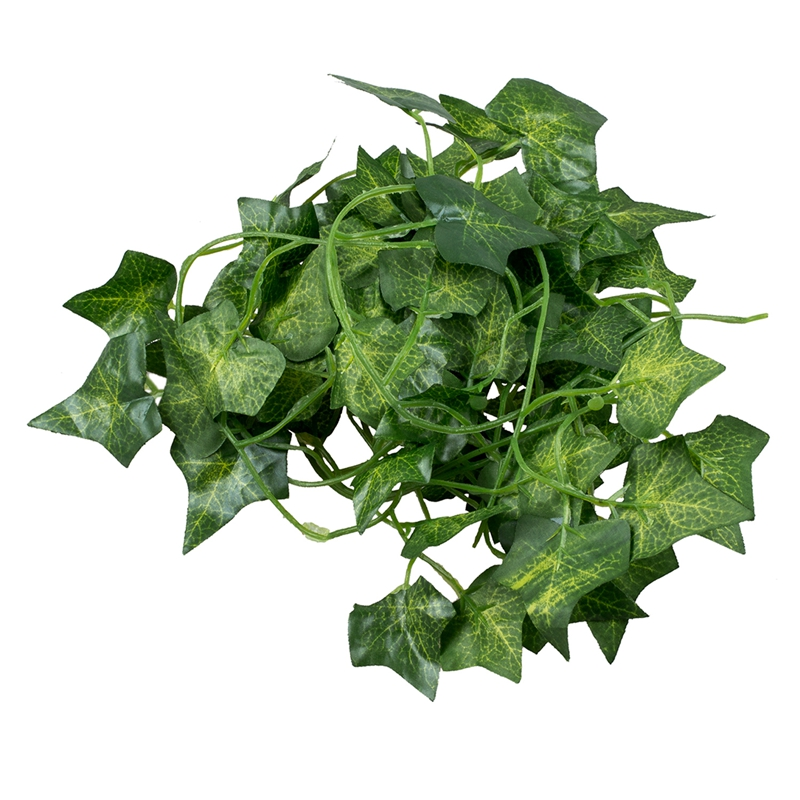 2M 6.6 Feet Artificial Ivy Fake Foliage Leaf Flowers Plants Decoration 2M G4H5