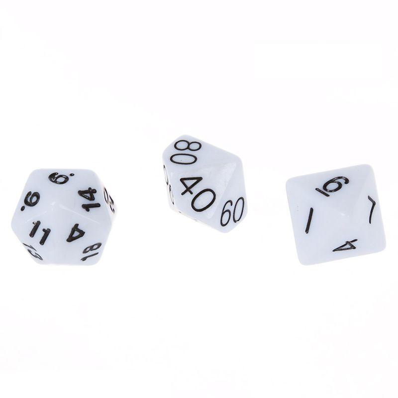Set-7PCS-De-Dice-Die-D4-D20-a-Jeux-DUNGEONS-amp-DRAGONS-RPG-Donjons-et-Dragon-N2G1 miniature 5