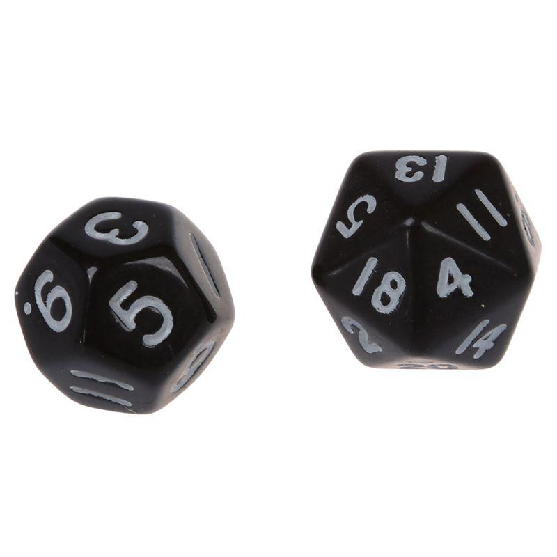 Set-7PCS-De-Dice-Die-D4-D20-a-Jeux-DUNGEONS-amp-DRAGONS-RPG-Donjons-et-Dragon-N2G1 miniature 10