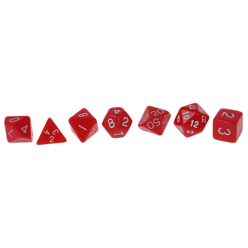 Set-7PCS-De-Dice-Die-D4-D20-a-Jeux-DUNGEONS-amp-DRAGONS-RPG-Donjons-et-Dragon-N2G1 miniature 14