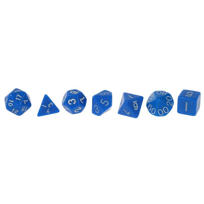 Set-7PCS-De-Dice-Die-D4-D20-a-Jeux-DUNGEONS-amp-DRAGONS-RPG-Donjons-et-Dragon-N2G1 miniature 19