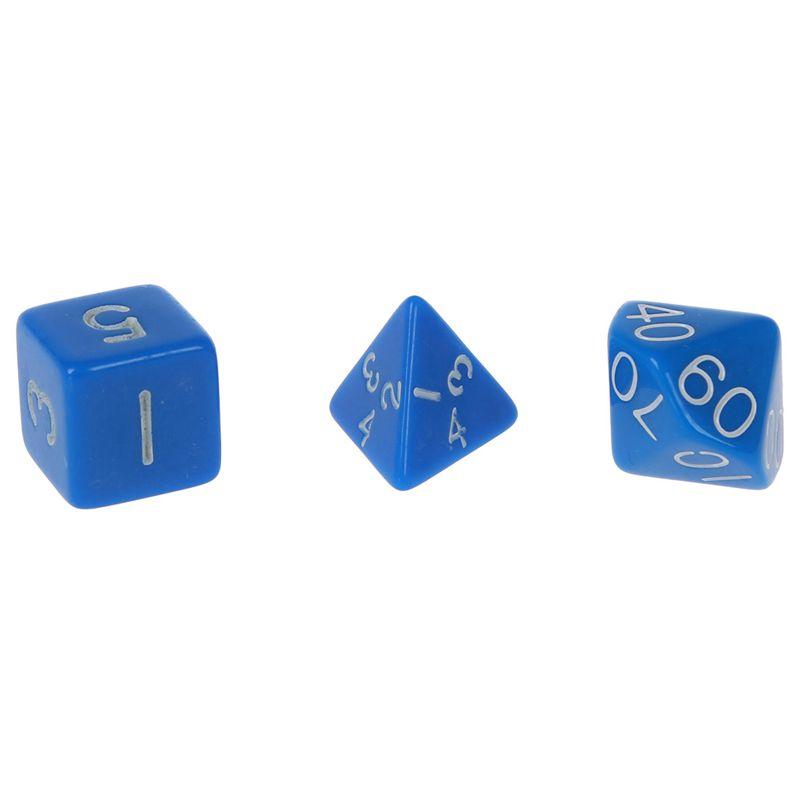 Set-7PCS-De-Dice-Die-D4-D20-a-Jeux-DUNGEONS-amp-DRAGONS-RPG-Donjons-et-Dragon-N2G1 miniature 20