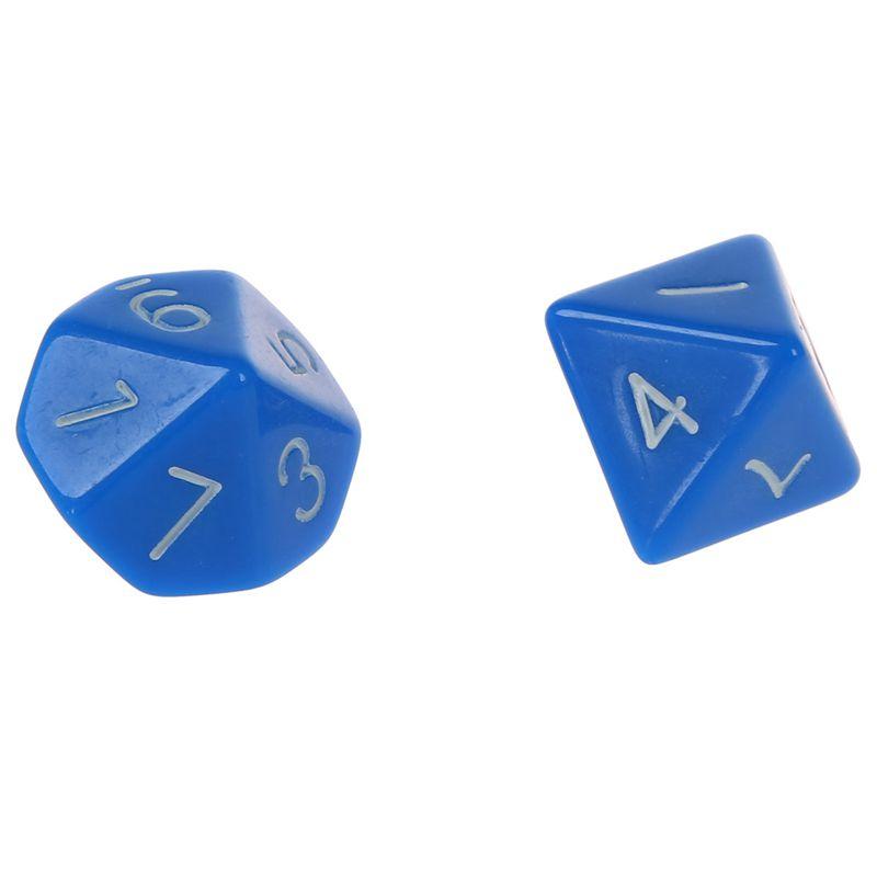 Set-7PCS-De-Dice-Die-D4-D20-a-Jeux-DUNGEONS-amp-DRAGONS-RPG-Donjons-et-Dragon-N2G1 miniature 22