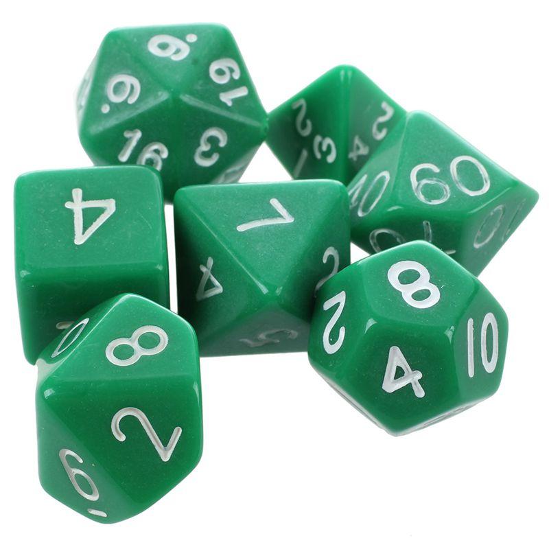 Set-7PCS-De-Dice-Die-D4-D20-a-Jeux-DUNGEONS-amp-DRAGONS-RPG-Donjons-et-Dragon-N2G1 miniature 25