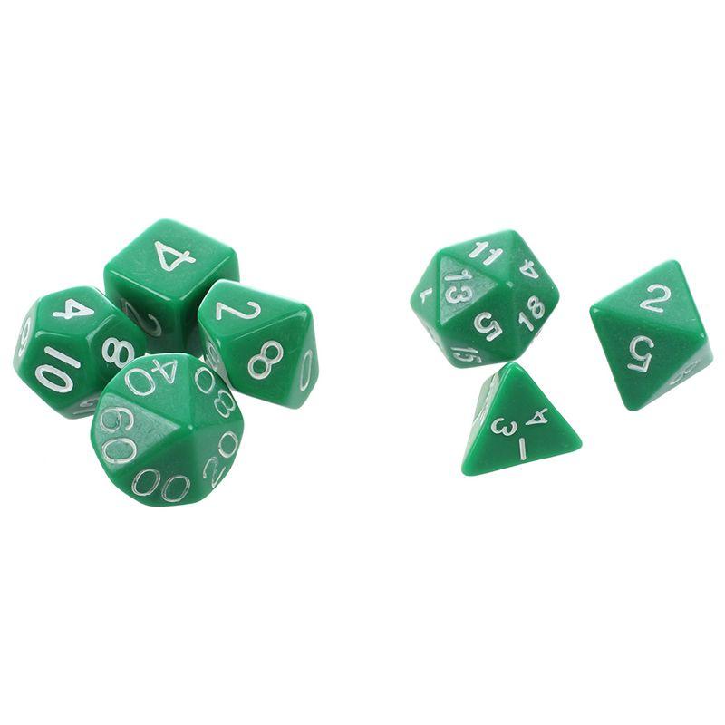 Set-7PCS-De-Dice-Die-D4-D20-a-Jeux-DUNGEONS-amp-DRAGONS-RPG-Donjons-et-Dragon-N2G1 miniature 26