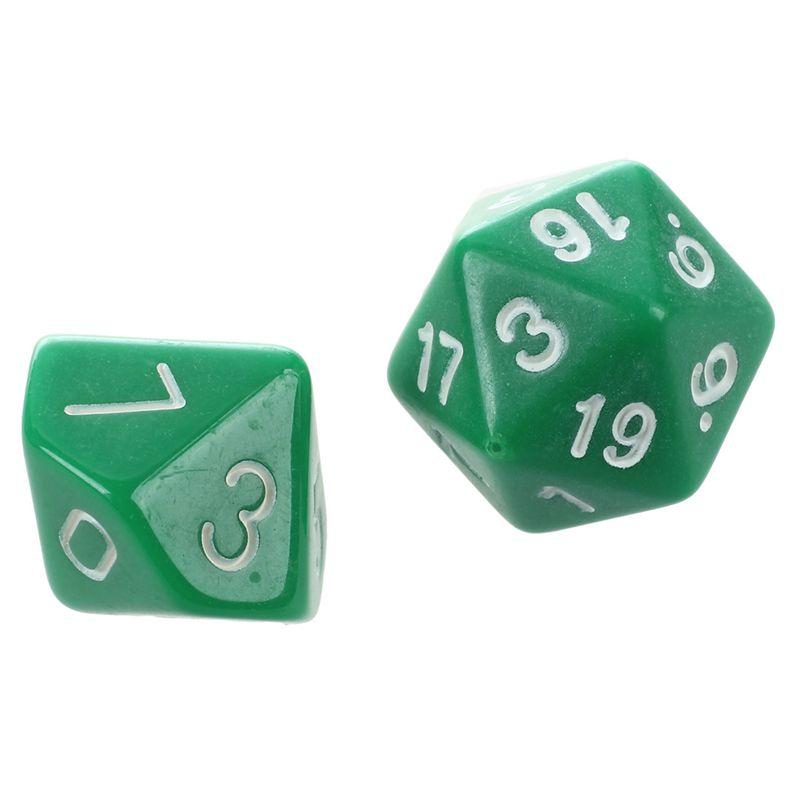 Set-7PCS-De-Dice-Die-D4-D20-a-Jeux-DUNGEONS-amp-DRAGONS-RPG-Donjons-et-Dragon-N2G1 miniature 27