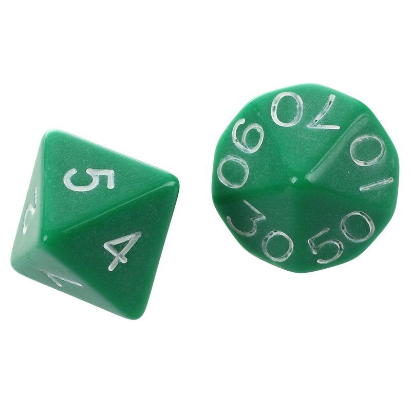 Set-7PCS-De-Dice-Die-D4-D20-a-Jeux-DUNGEONS-amp-DRAGONS-RPG-Donjons-et-Dragon-N2G1 miniature 28