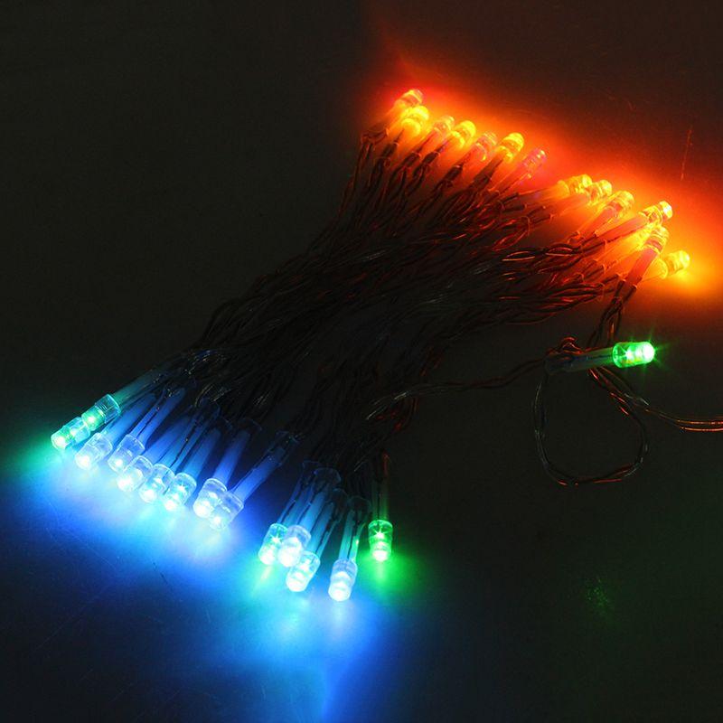 2x bunte 3 meter 30 led lichterkette lampe streifen weihnachten band outdooq5g7 ebay. Black Bedroom Furniture Sets. Home Design Ideas