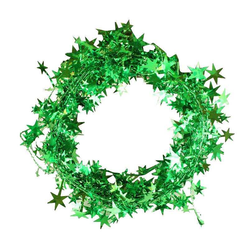 Stern Auf Weihnachtsbaum.1 Stueck Weihnachtsbaum Haengende Stern Kiefer Girlande