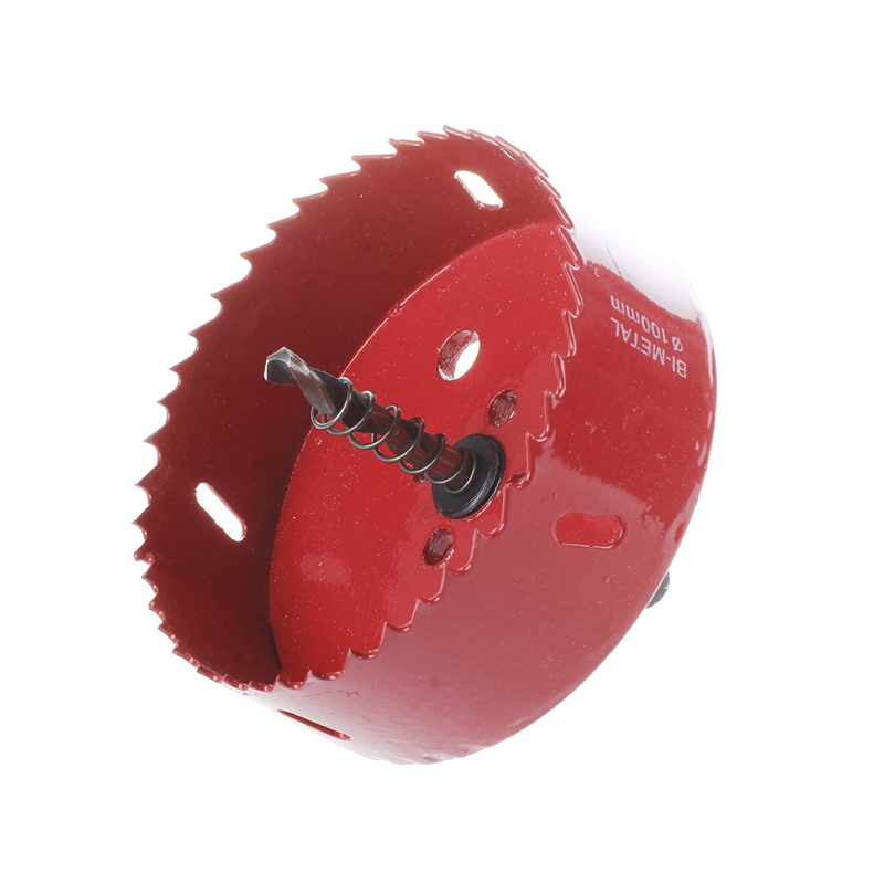 Product Name : Hole Saw;Use for : Wood, Iron, Aluminium Alloy;Cutting Diameter : 100mm / 3.9inch. Shank Width : 9mm / 0.35inch;Hole Saw Depth : 36.5mm ...