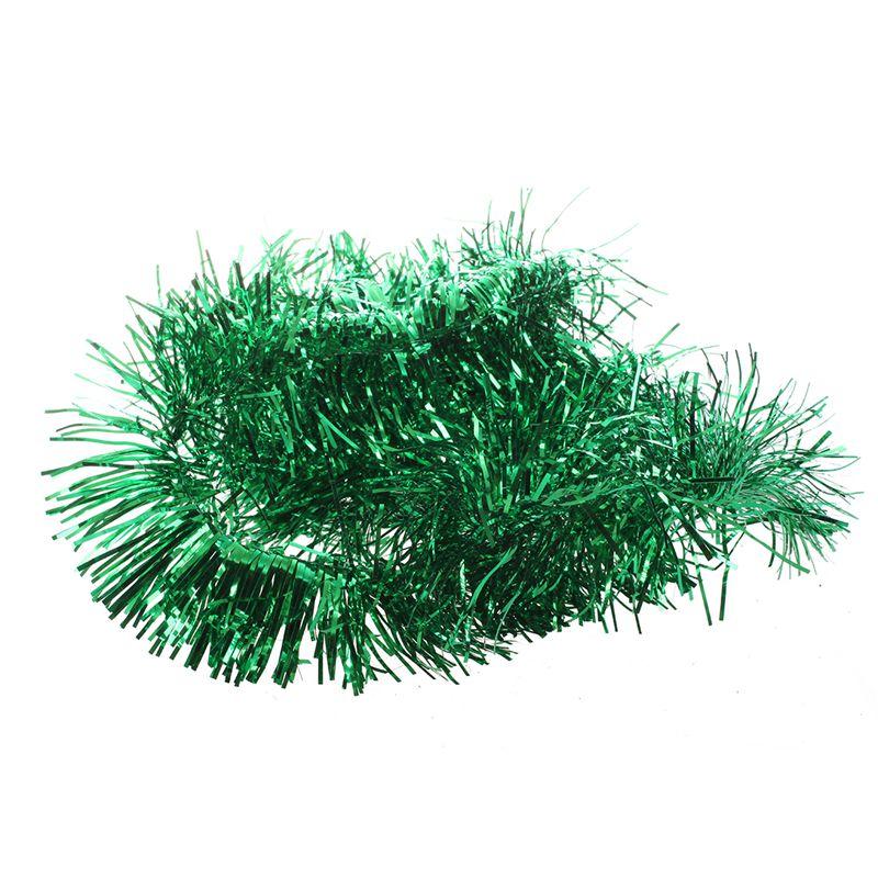 2m-6-5-ft-Albero-di-Natale-Decorazioni-Addobbi-Decorazioni-ghirlanda-Verde-W2F6 miniatura 3