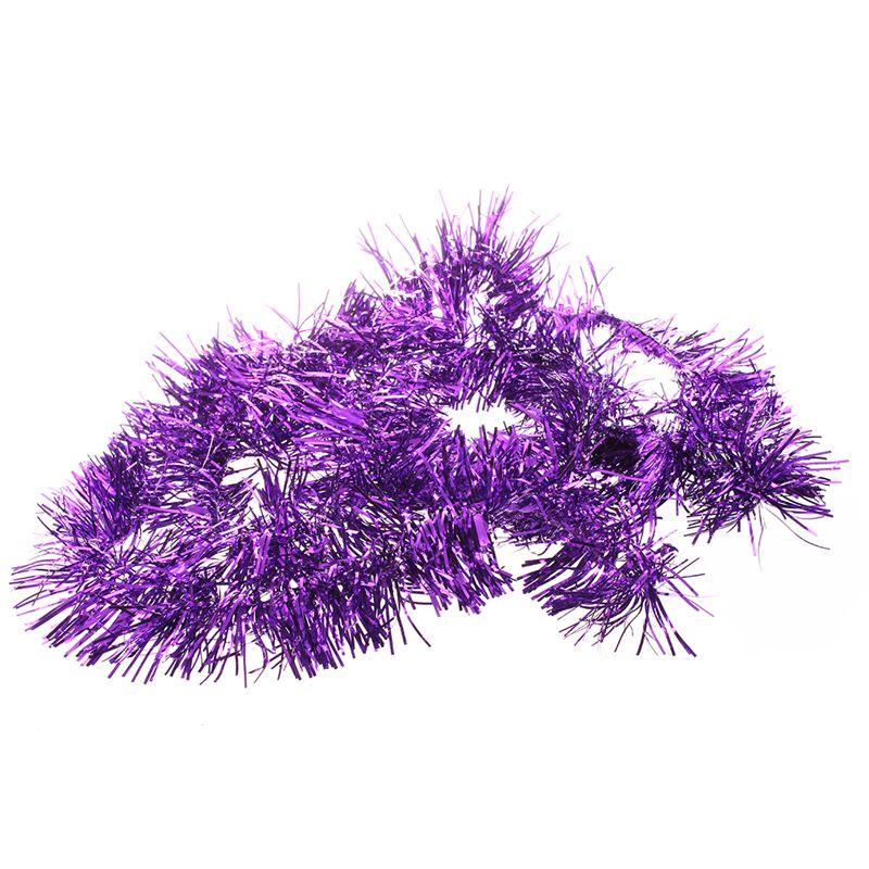 2m-6-5-Pi-Decorations-d-039-arbre-de-Noel-en-clinquant-Guirlande-I9W3 miniature 17