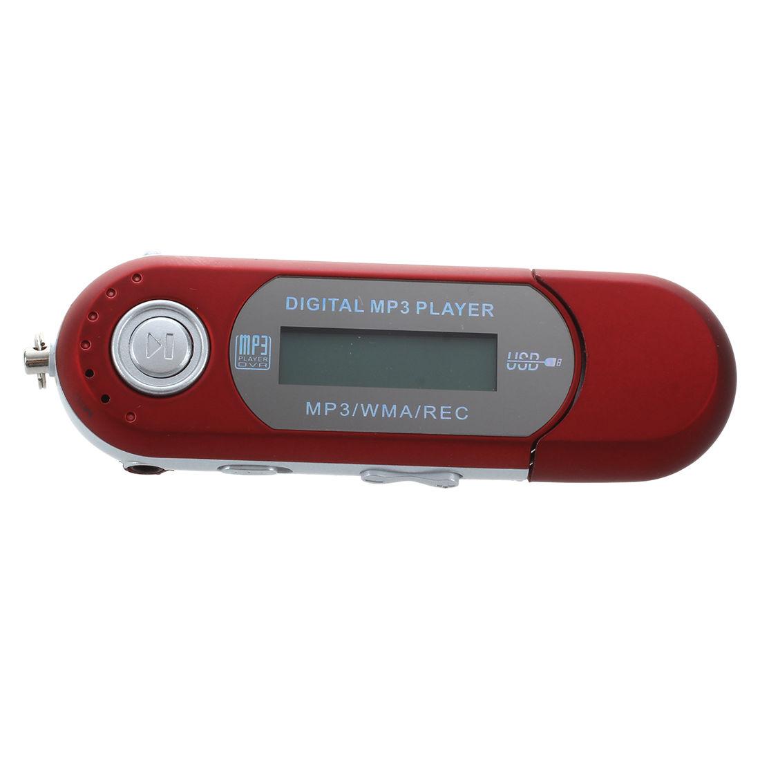 8g usb flash drive mp3 player fm walkman red sdt. Black Bedroom Furniture Sets. Home Design Ideas