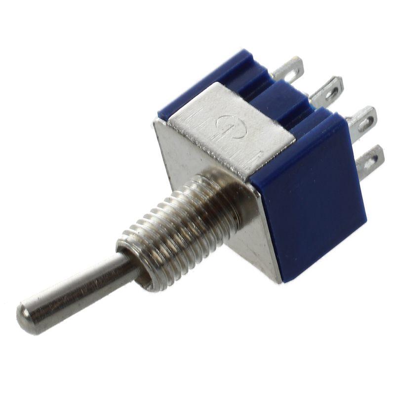 8 Pcs AC 125V 6A Amps ON//OFF//ON 3 Position DPDT Toggle Switch Z6U8