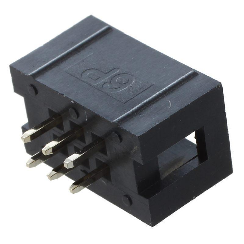 3X-10-Pcs-de-2-54mm-de-paso-2x3-Pin-de-Doble-hilera-IDC-Pin-Cabeceras-Y1E4-Y1E4