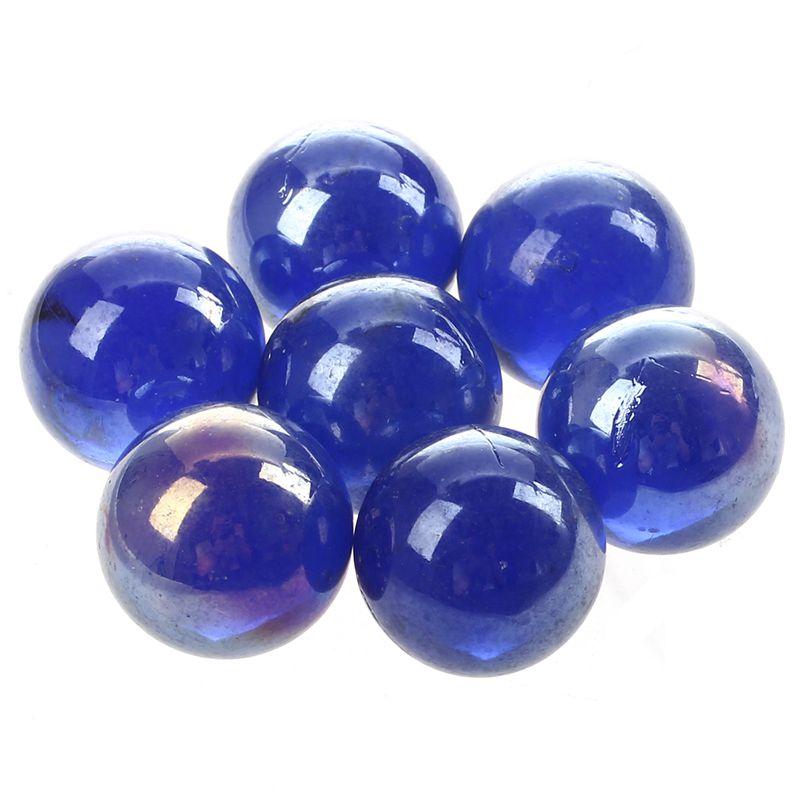 10 pz Marmi biglie vetro 16mm Giocattoli decorazione sfere di vetro di Knic F8N5