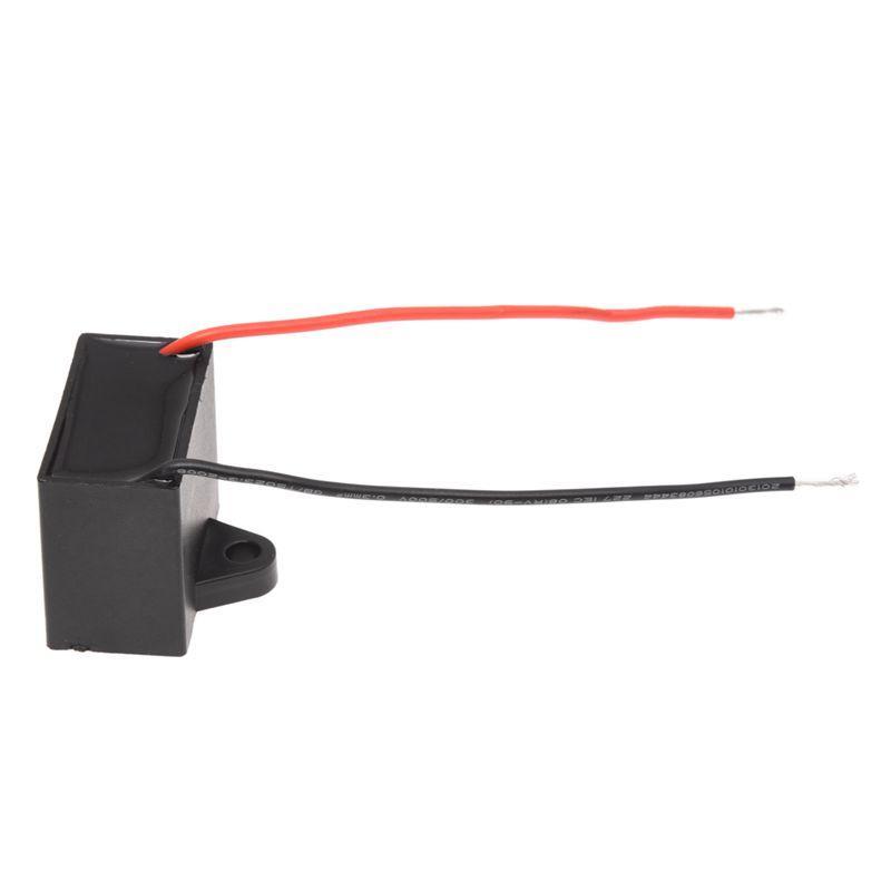 SODIAL (R) 3.5uf 450V AC 50/ 60Hz 2-Draht Ventilator Kondensator ...