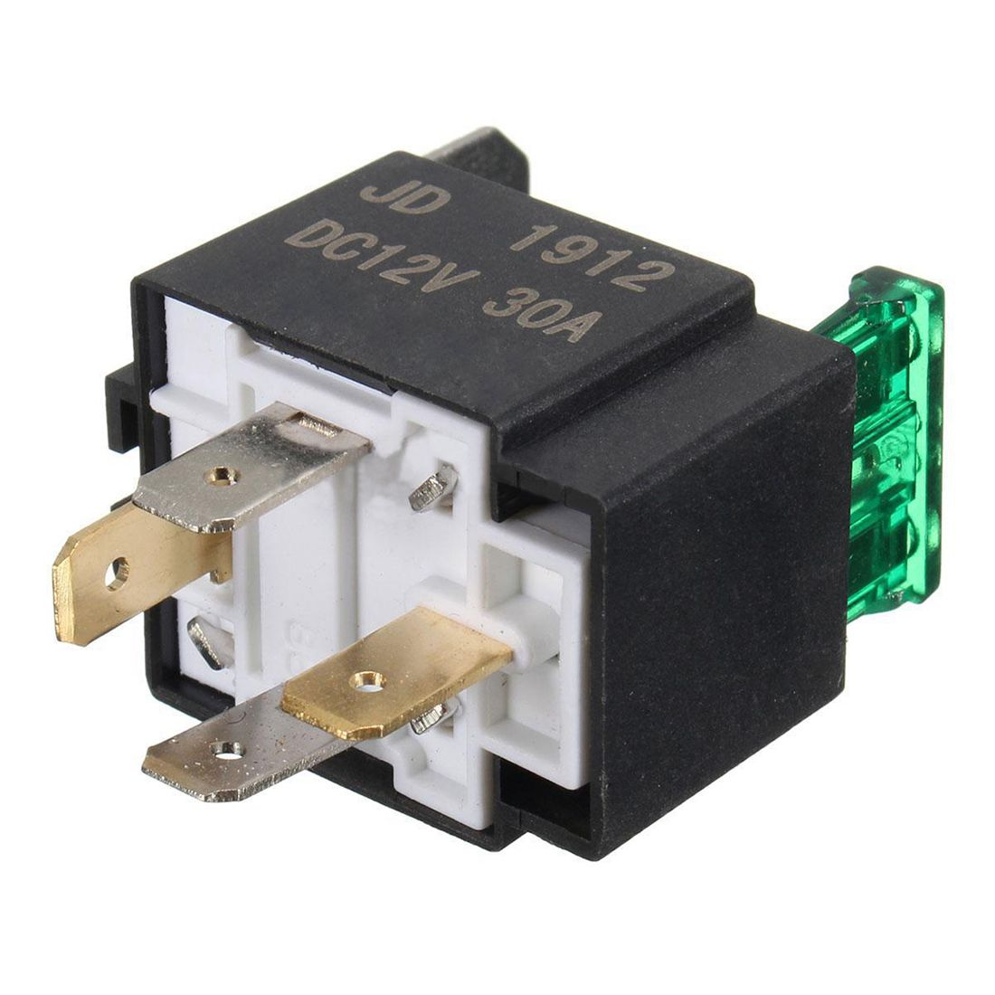 12v 30a 4 pin spst auto kfz relais schliesser wechsel. Black Bedroom Furniture Sets. Home Design Ideas