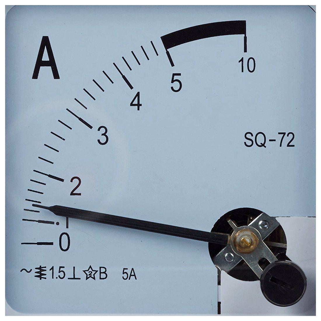 Quadratische blech montage bewegliche fluegel 0 5 a analog amperemeter ac 7 n3j5 ebay - Blech fensterbank montage ...