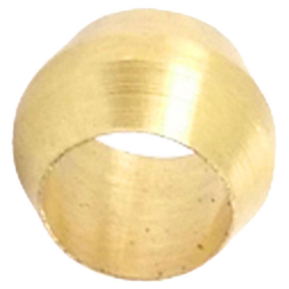 Mm hole dia brass compression sleeve ferrule ring e s ebay