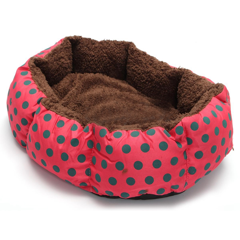 15X(Pet Dog Cat Bed Soft Nest Puppy Cushion Warm Kennel Mat Washable Winter 2O1)