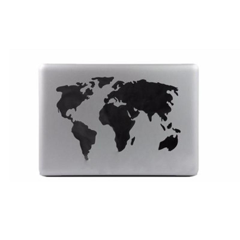 """Weltkarten-Aufkleber-Dekoration-Aufkleber fuer Macbook PC Pro-Luft 13 """" O8Z9"""
