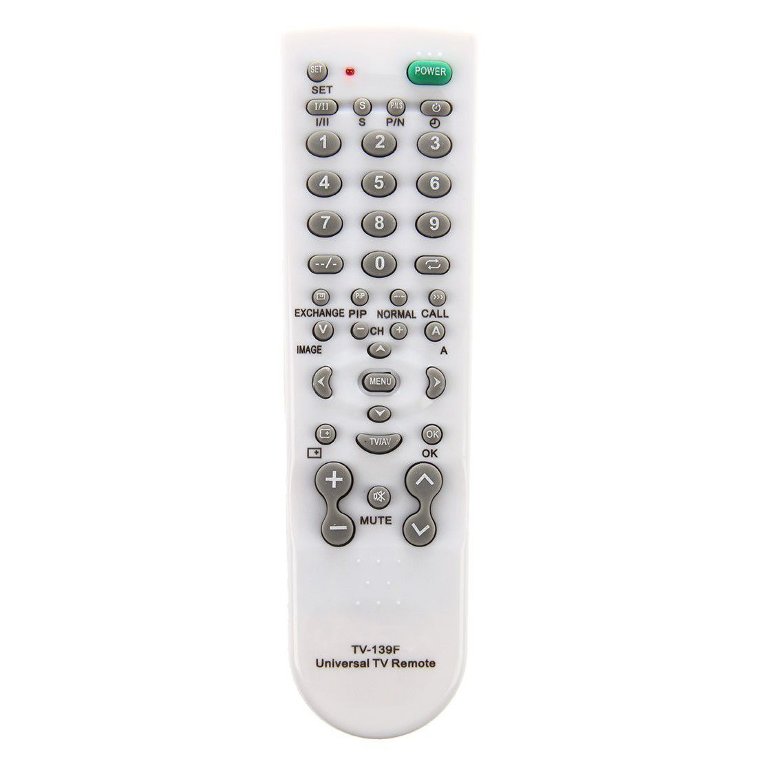 all in 1 tv 139f universal remote control tv controller perfect replacement u7r6 ebay. Black Bedroom Furniture Sets. Home Design Ideas
