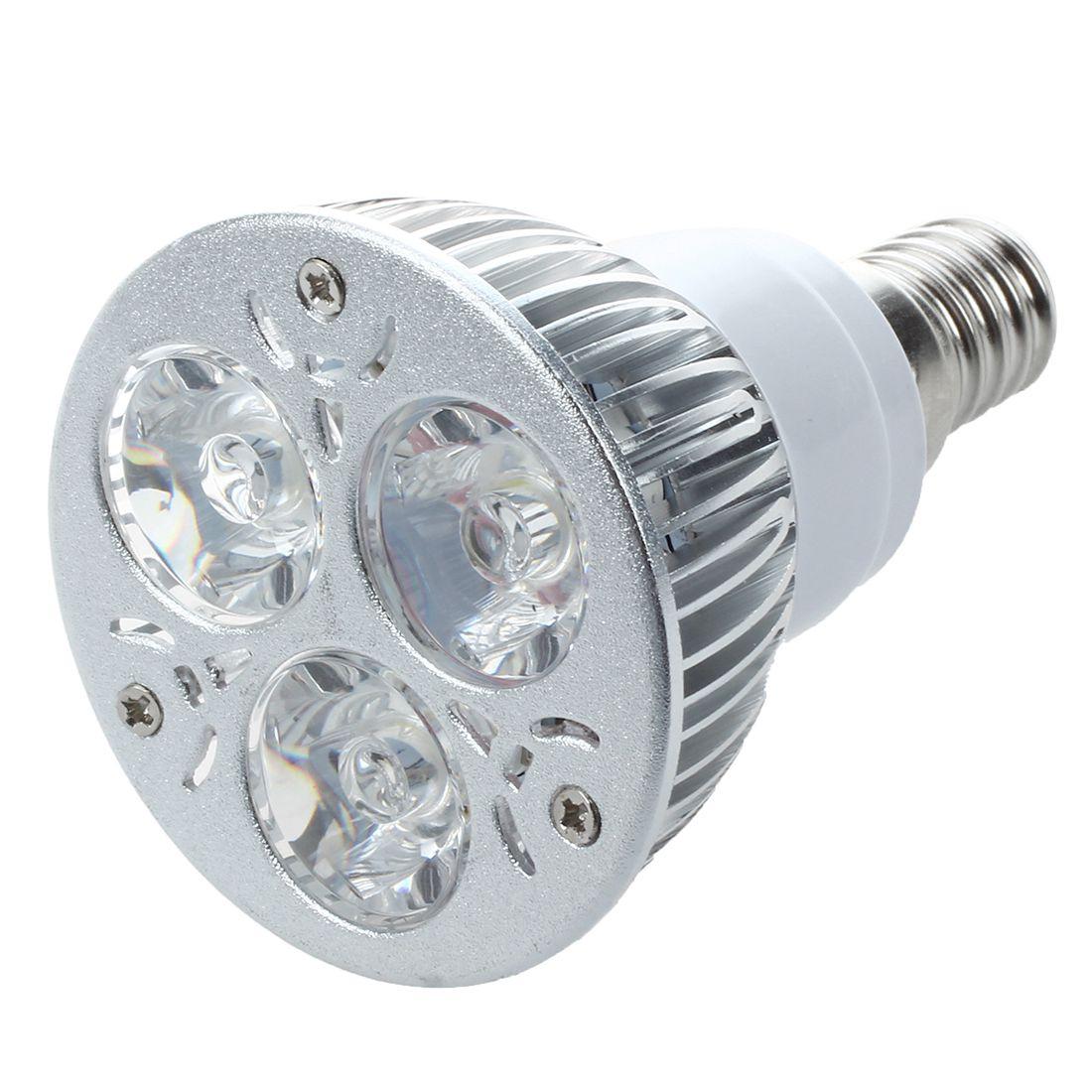 LED S2R2 E14 6500K Bulb about 3W Details Light Power 3 Lamp White High KlFc1J