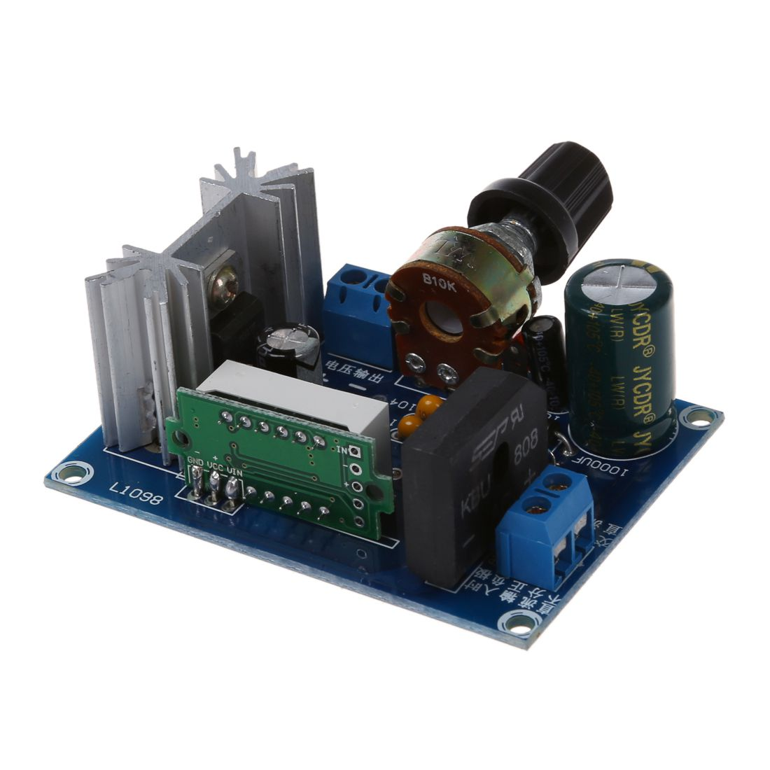 Lm317 Adjustable Voltage Regulator Step Down Power Supply Module Led Loss Comparison With The Linear Meter O6q4