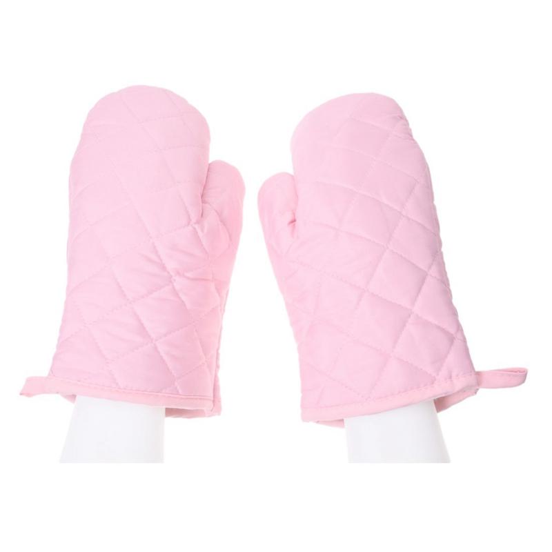 1-Paire-resistant-a-la-chaleur-en-Coton-gants-de-four-cuisine-cuisson-moufl-W1C6 miniature 12