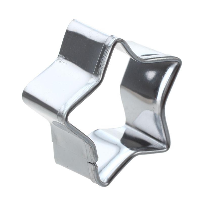 5-pzs-Cortador-de-galletas-de-aluminio-de-acero-aleado-Molde-de-torta-de-es-D7F6