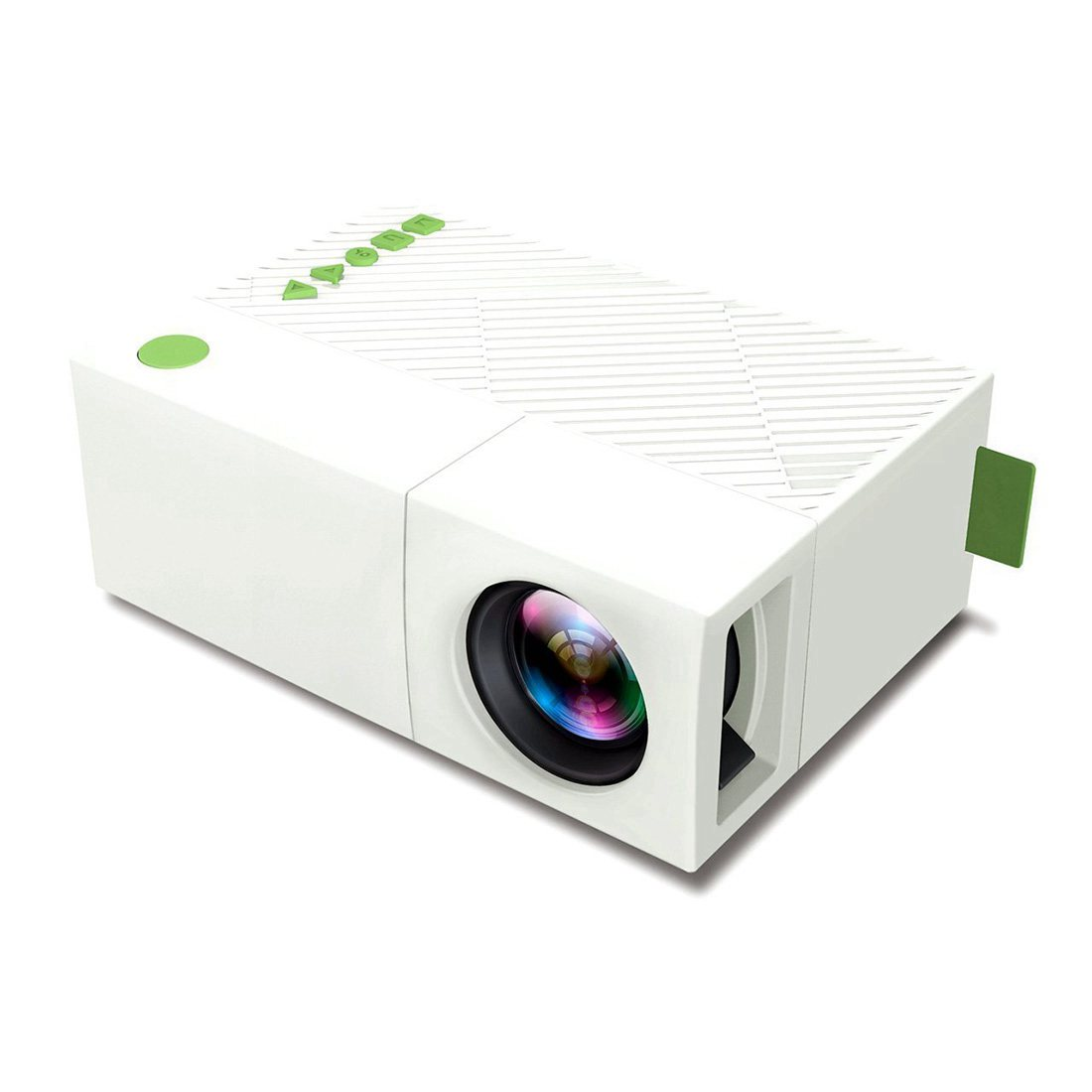 Mini mobile projector portable led pocket projector with for Mini portable pocket projector