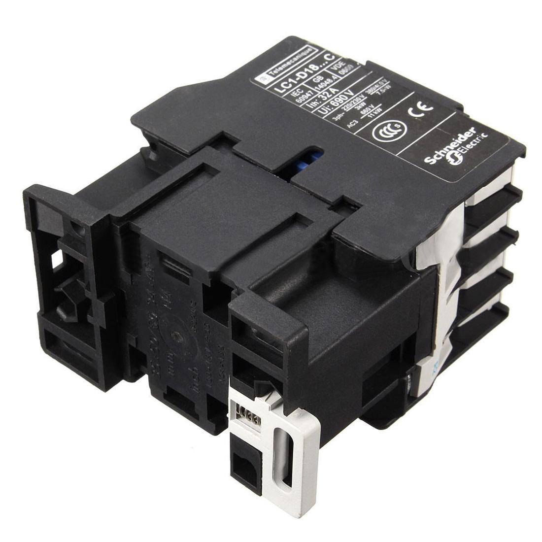 Power Ac Contactor 1no Ac 220v 50 60hz Coil Motor Starter