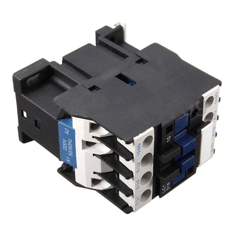 Power AC Contactor 1NO AC 220V 50//60Hz Coil Motor Starter Relay 32A 3-Phase K7K3