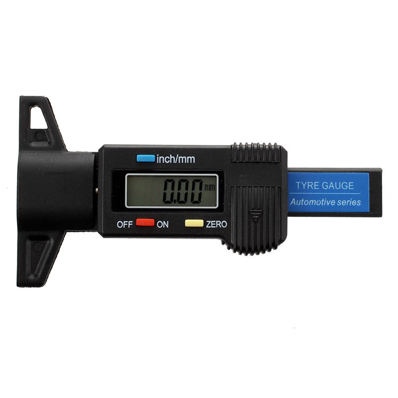 Digital depth gauge caliper tread depth gauge LCD Tyre tread gauge G3T3