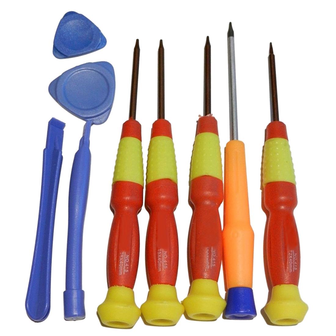 5 en 1 Torx Magnétique Tournevis Réparation Open Hand Set Outils T2 T3 T4 T5 T6 G