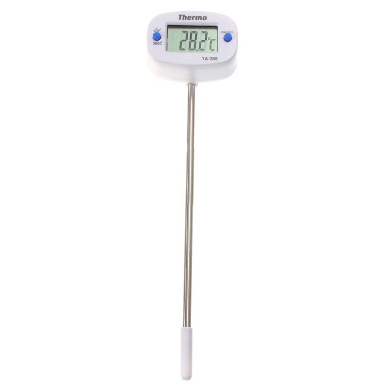 Digital LCD Thermometer Hygrometer For Kitchen Laboratory BB