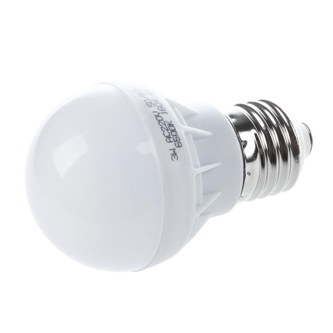 E27 Energiesparende LED-Birne Licht Lampe 220V 3W Cool Weiss JKSY ...