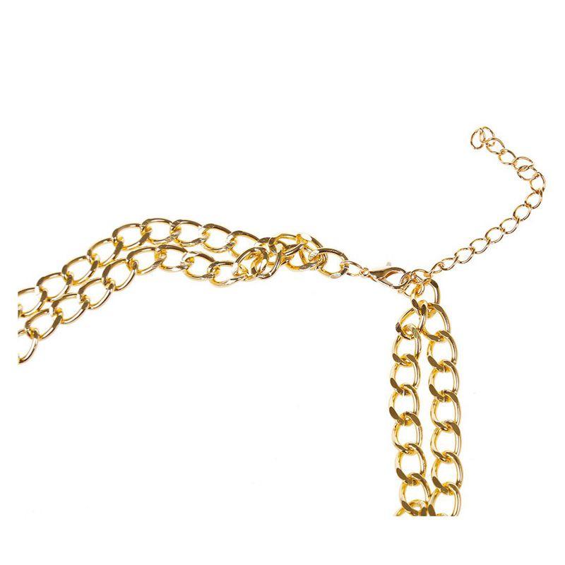 3X-Modeschmuck-Halsketten-fuer-Frauen-Wassertropfen-Seil-Kette-E9R7 Indexbild 9
