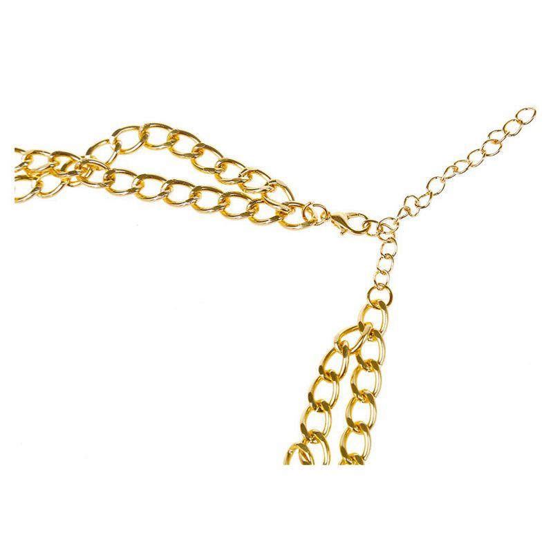 3X-Modeschmuck-Halsketten-fuer-Frauen-Wassertropfen-Seil-Kette-E9R7 Indexbild 13