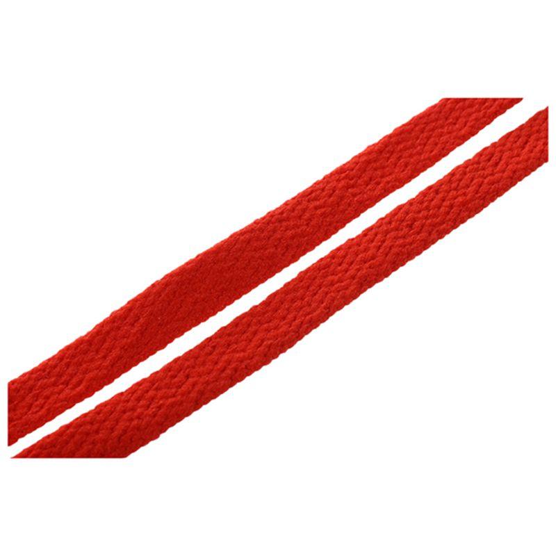 44-034-Solido-plano-Cordones-de-zapato-Encajes-Cuerdas-para-calzado-deportivo-D1G3 miniatura 5