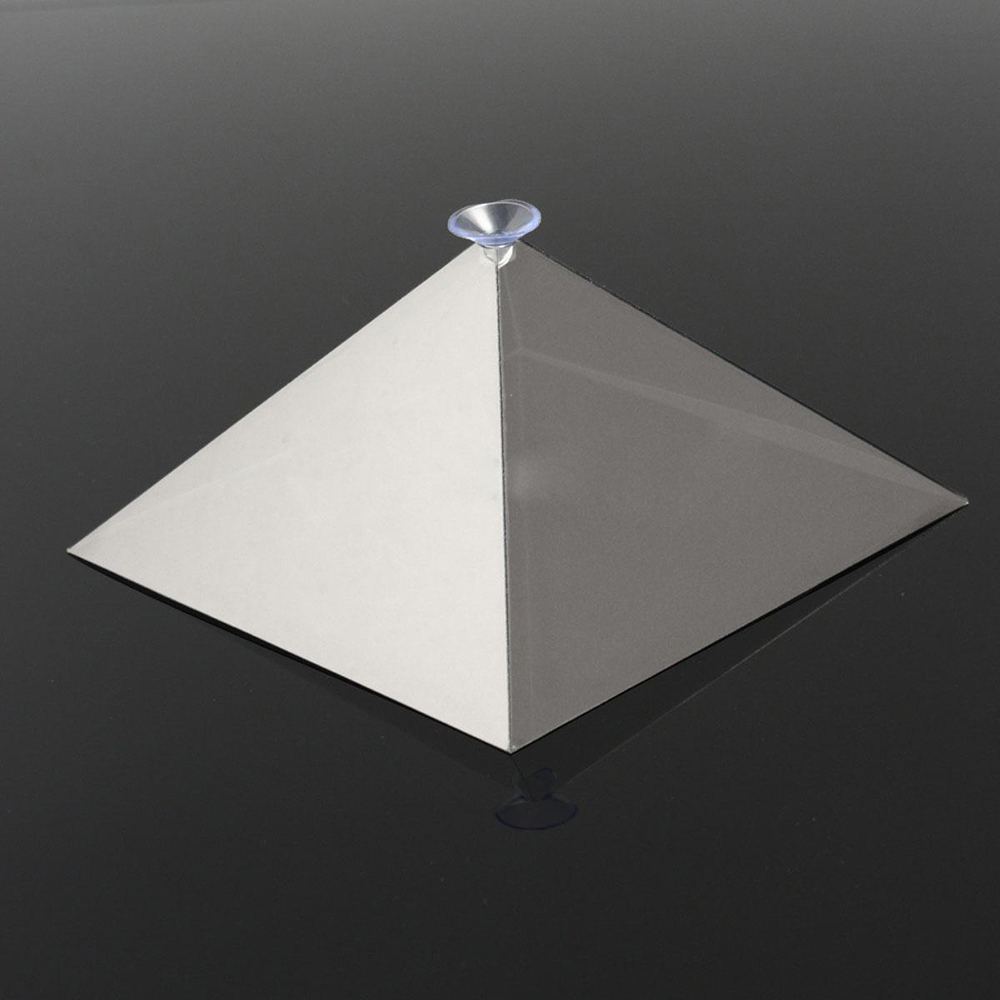 Portable 3d holographic hologram display pyramid stand for Apple projector for ipad