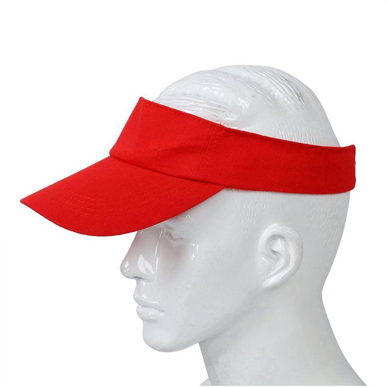 Sombrero-plano-de-sol-visera-Gorra-deportiva-Colores-Golf-Tenis-Playa-Nuevo-C6E1 miniatura 12