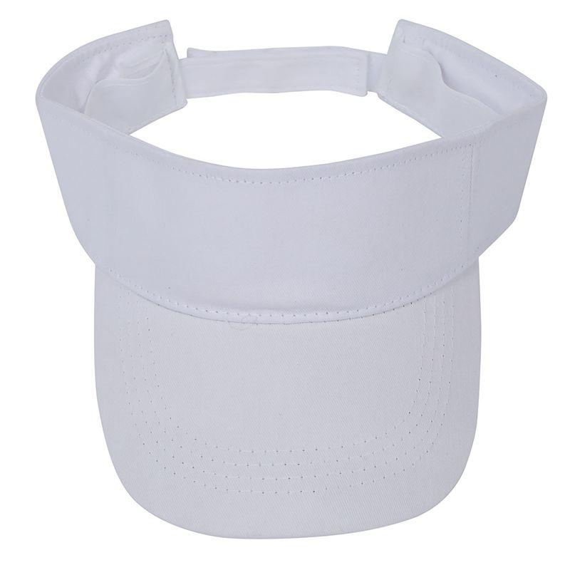 1e379b04043 Visor Sun Plain Hat Sports Cap Colors Golf Tennis Beach Adjustable Men  Women- U7. One Size fits most ...