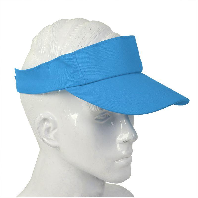 Sombrero-plano-de-sol-visera-Gorra-deportiva-Colores-Golf-Tenis-Playa-Nuevo-C6E1 miniatura 45