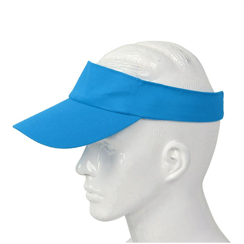 Sombrero-plano-de-sol-visera-Gorra-deportiva-Colores-Golf-Tenis-Playa-Nuevo-C6E1 miniatura 46