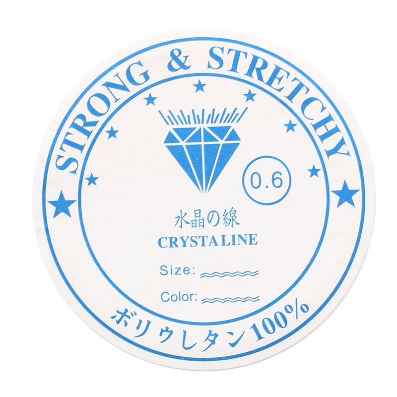 Cadena-de-hilo-de-cuentas-Rodillo-de-hilo-de-cristal-Elastico-S5Y3 miniatura 4