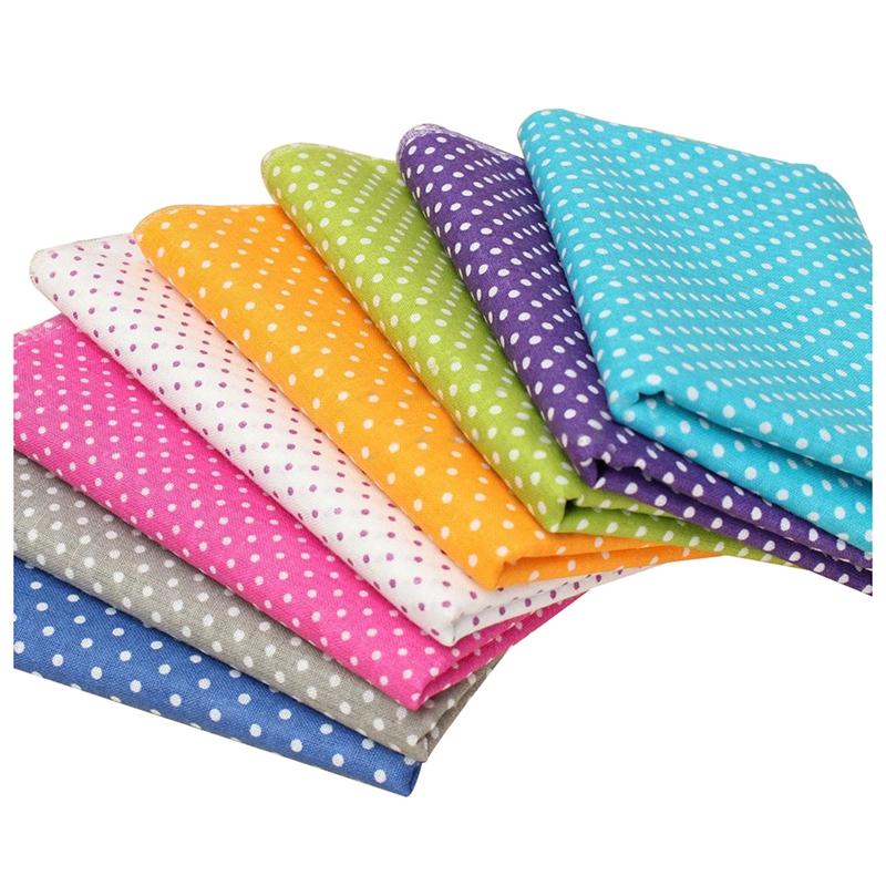 Series 8 Assorted Pre Cut Charm Cotton Quilt Fabric Fat Quarters Bundles Se L0V1